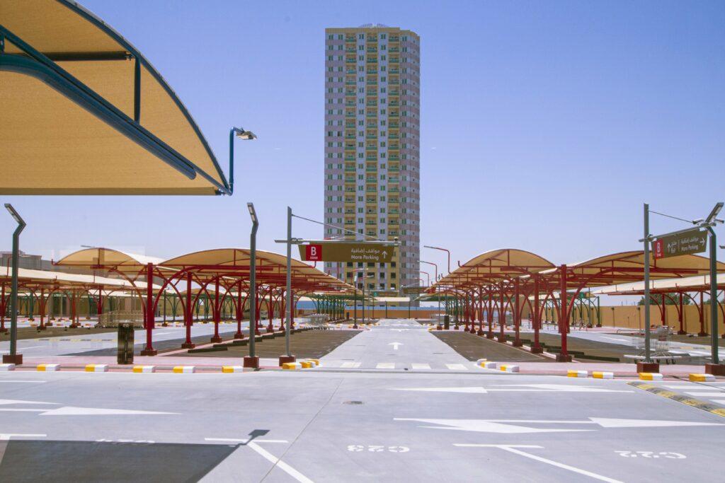 Al Murad Mall Roof Parking 2-min